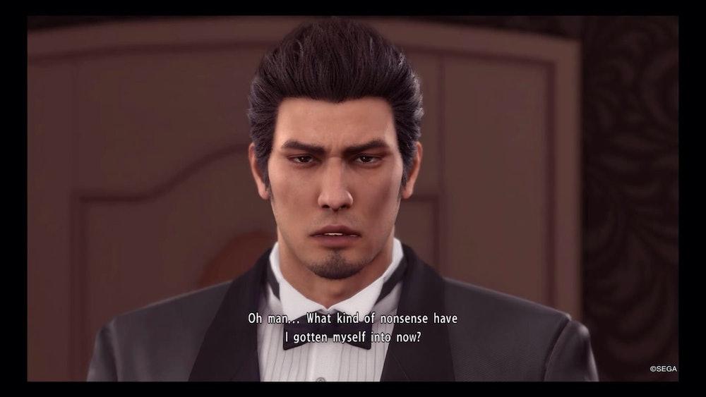 yakuza tuxedo nonsense
