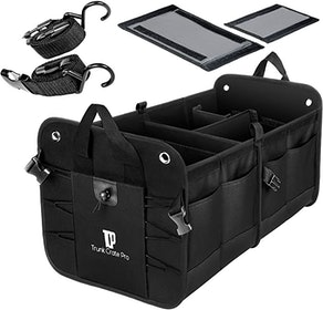 Trunkcratepro Collapsible Portable Trunk Organzier
