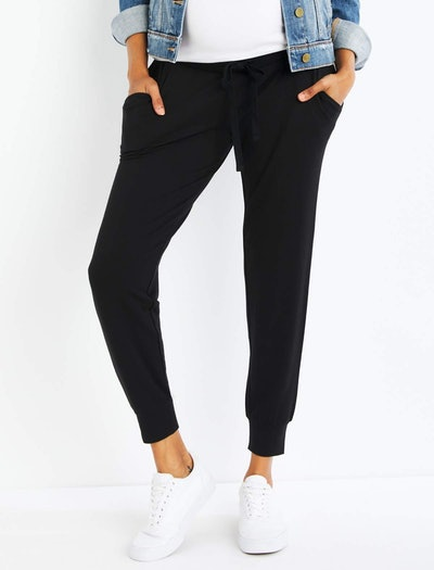 Under Belly French Terry Maternity Jogger Pant