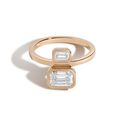 Emerald Belt Ring