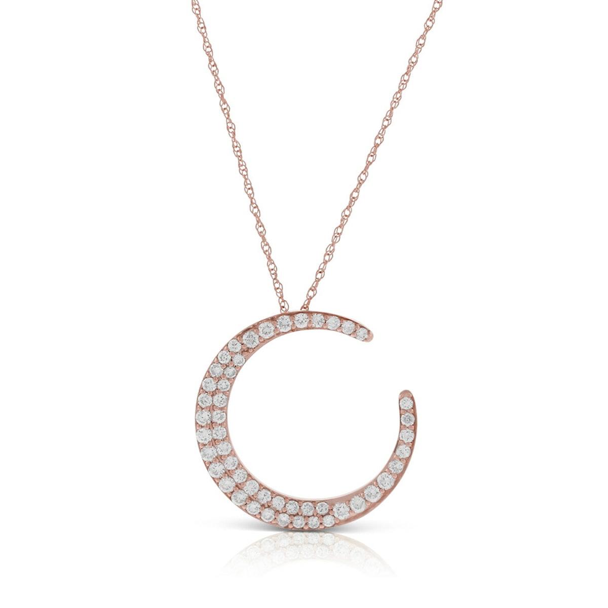 HOPECIRCLE Diamond Pendant in 14K Rose Gold