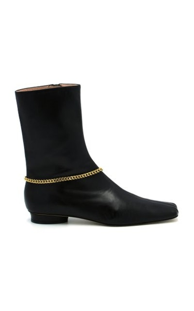 Tylynn Leather Ankle Boots