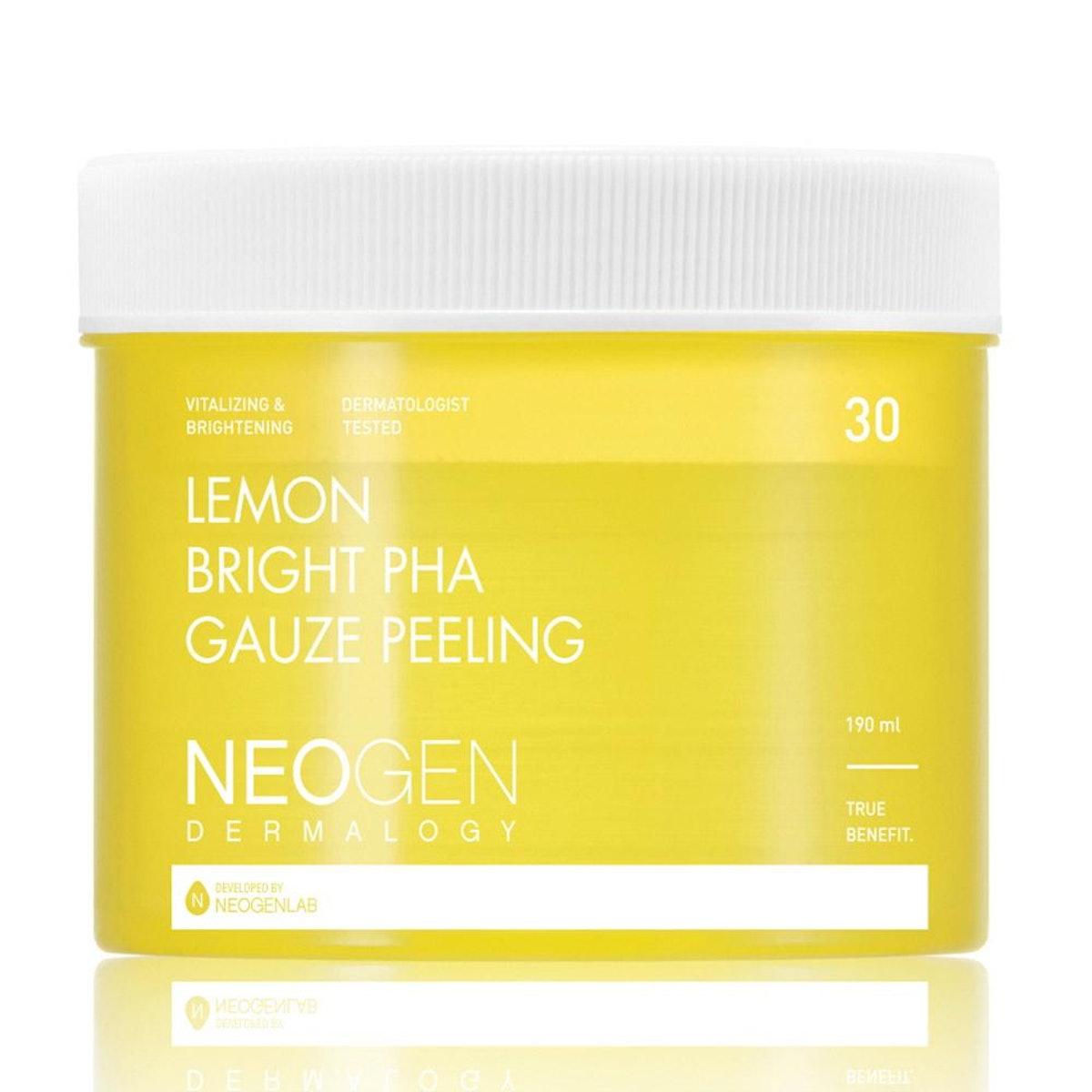 Lemon Bright PHA Gauze Peeling Pads
