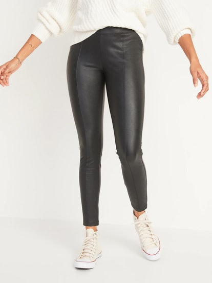 Old Navy High-Waisted Stevie Faux-Leather Pants for Women