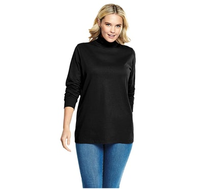 Woman Within Plus Size Turtleneck Top