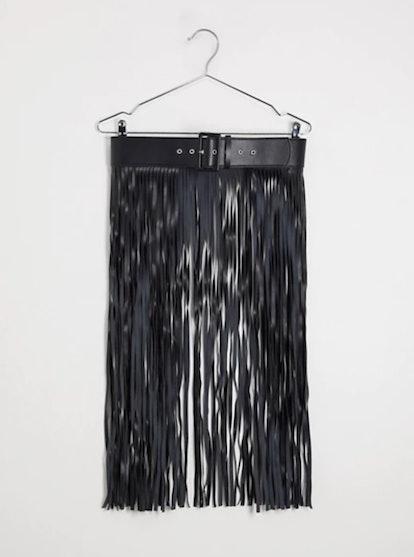 ASOS Design Fringe Skirt Belt