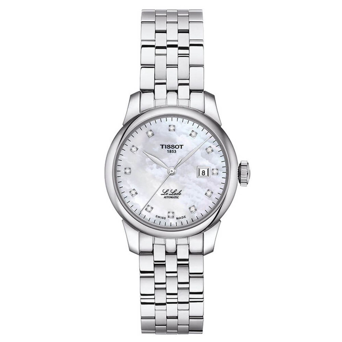 Tissot Le Locle Automatic Lady Diamond Index Watch, 29 mm