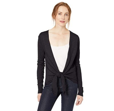 Daily Ritual Tie Front Cardigan