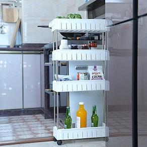 Aogist 4-tier Slim Storage Cart
