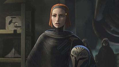 Bo-Katan Kryze in 'Star Wars: The Clone Wars.'