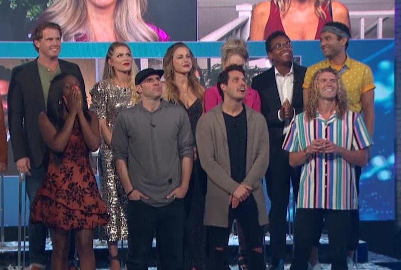 The Big Brother cast via a screenshot