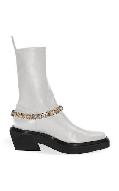 Ilenia Chain Leather Boots