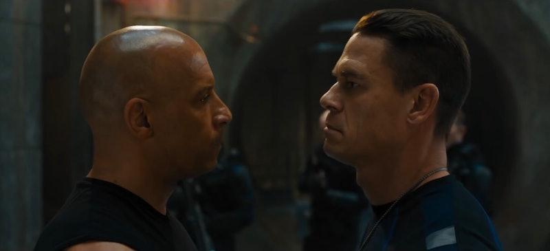 Vin Diesel as Dominic Toretto & John Cena as Jakob Toretto in 'F9'