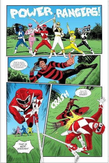 Power Rangers Freddy Krueger