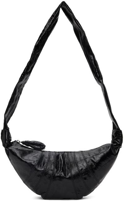 Black Small Croissant Bag