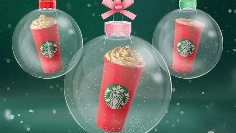 Starbucks' 2020 Festive Menu