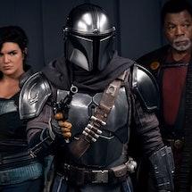 Cara Dune, Greef Karga, and the Mandalorian in 'The Mandalorian' Season 2