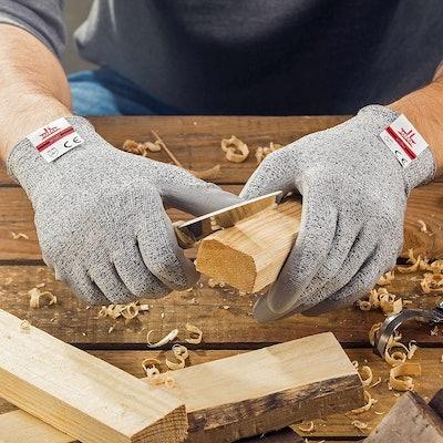 SAFEAT Safety Grip Work Gloves