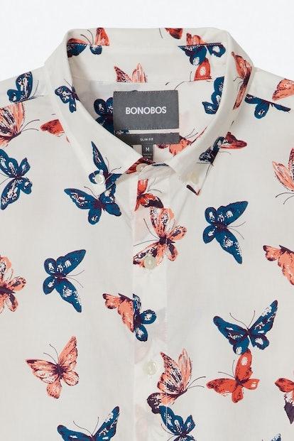 Bonobos Riviera Short Sleeve Shirt Extended Sizes