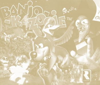 Banjo-Kazooie Nintendo 64 game cover