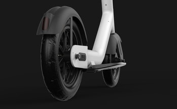 Taur e-scooter rear wheel