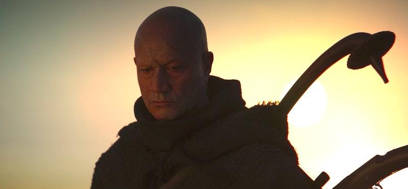 Temuera Morrison in the premiere episode of 'The Mandalorian' Season 2, via screenshot.