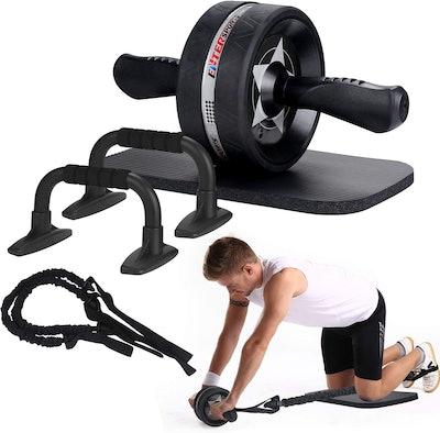 EnterSports Ab Roller Workout Set