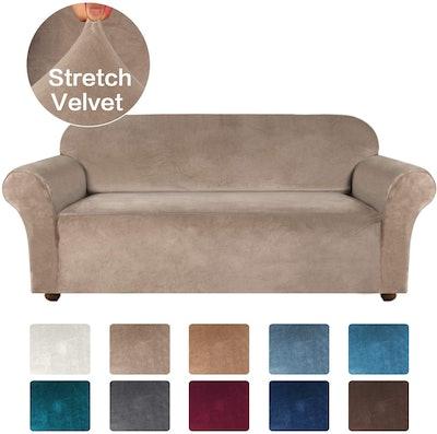 Turquoize Store Velvet Sofa Slipcover