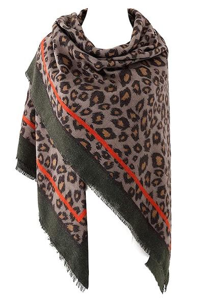 Urban CoCo Leopard Printed Scarf
