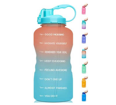 Venture Pal Gallon Water Bottle With Time Markers