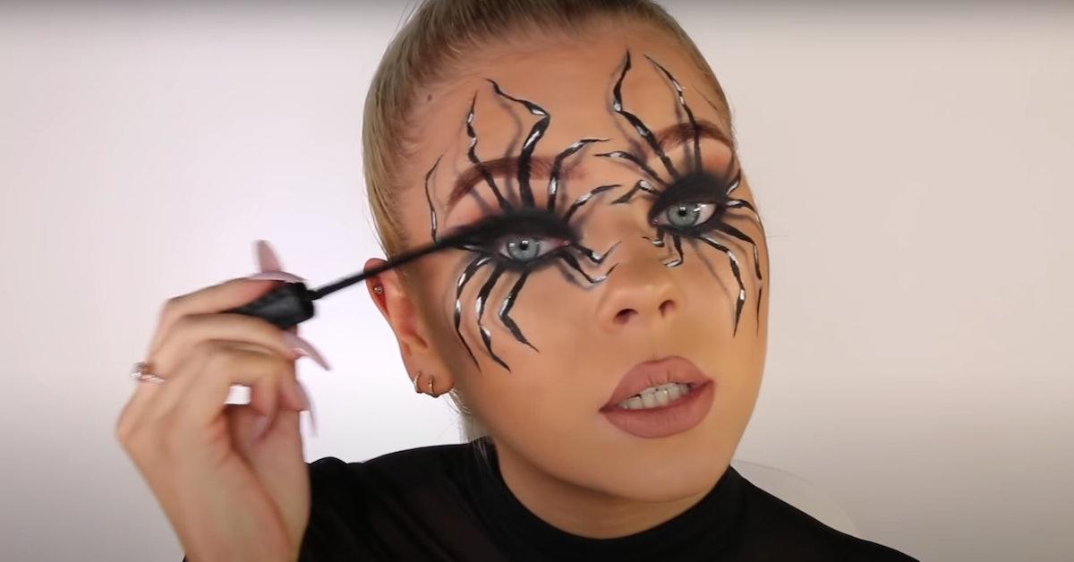 Easy Halloween Makeup For Work.10 Easy Halloween Makeup Tutorials On Youtube Tiktok For Last Minute Looks