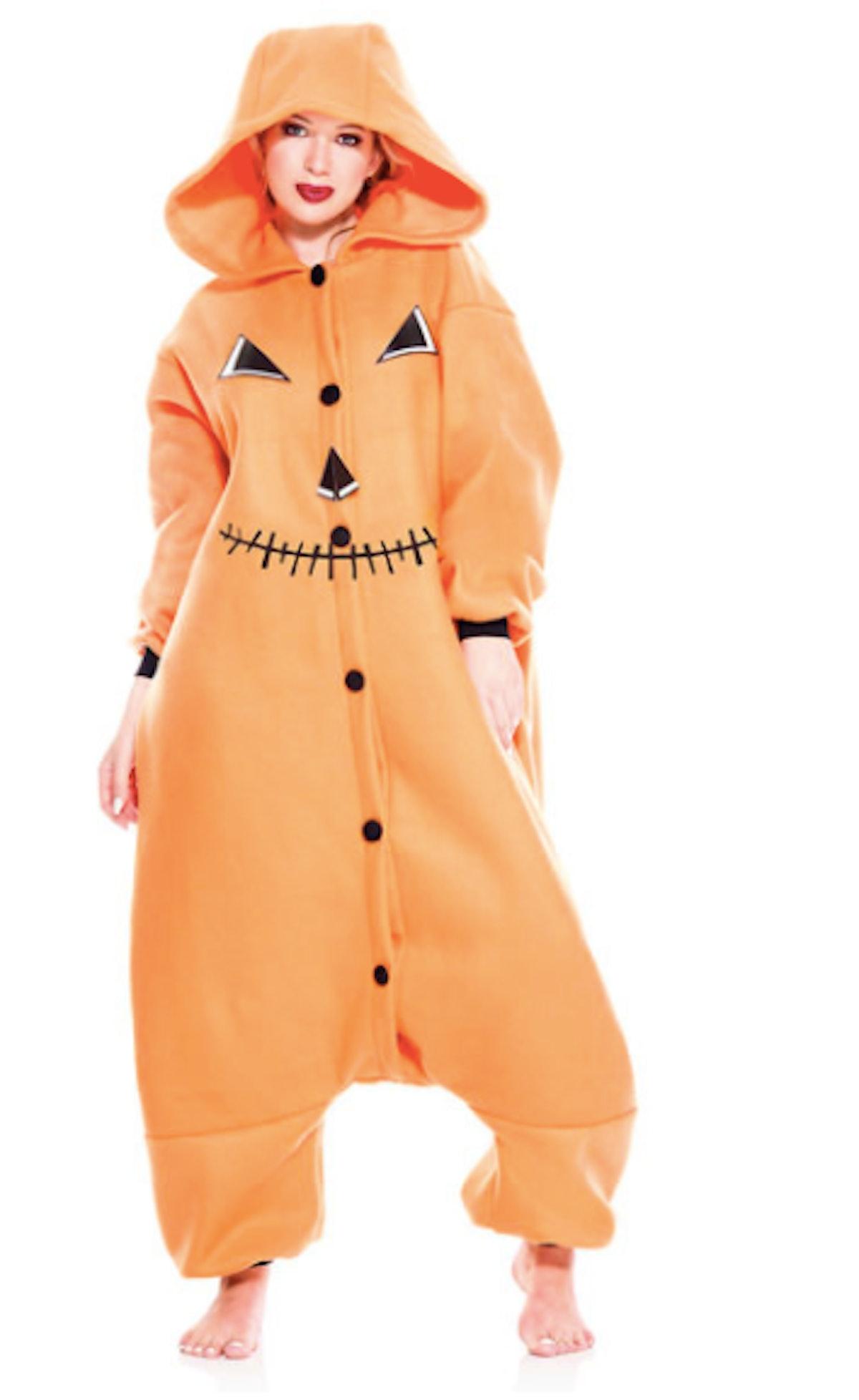 Pumpkin Spice Onesie Costume