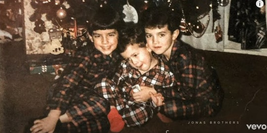 The Jonas Brothers just released a new holiday song full of those good old nostalgic feels.