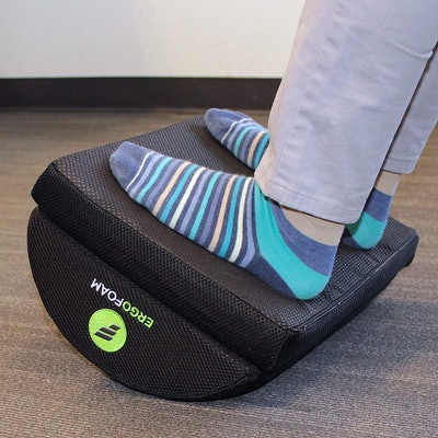 ErgoFoam Adjustable Desk Foot Rest