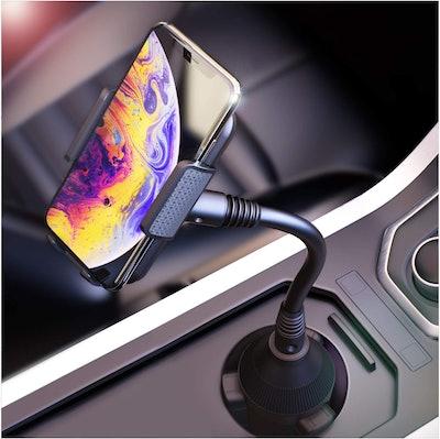 BESTRIX Car Cup Holder Phone Mount