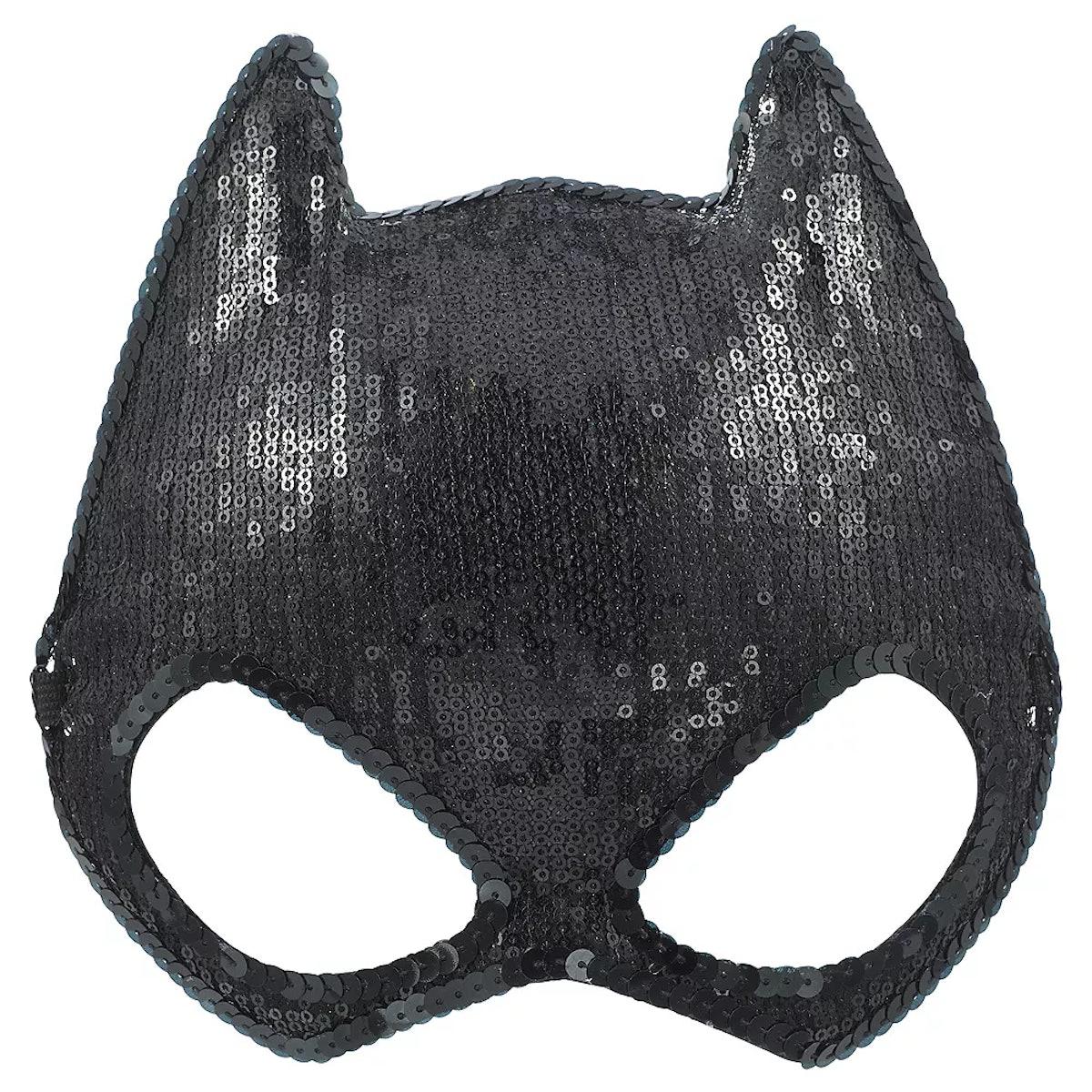 Party City Sequin Batgirl Mask