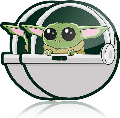 Baby Yoda Self Adhesive Car Decal (2 Pack)