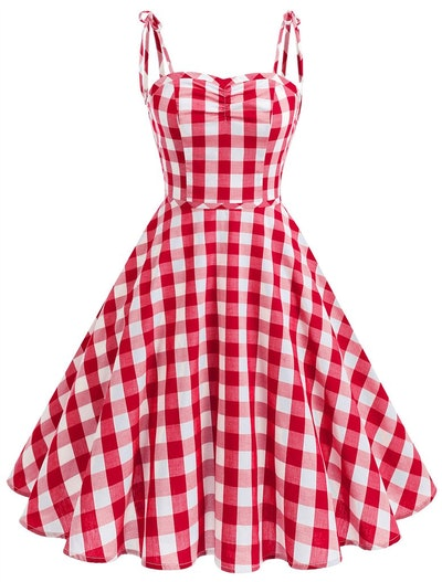 Women's Vintage Polka Audrey Dress