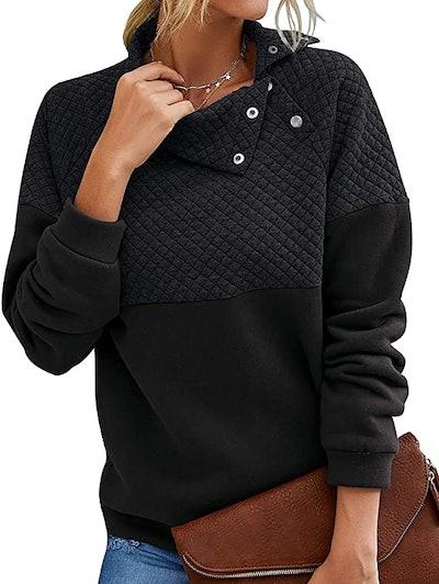 BTFBM Quilted Lightweight Sweatshirt