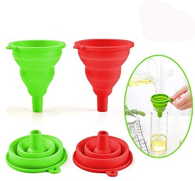 SEEOOR Collapsible Funnel (2-Pack)