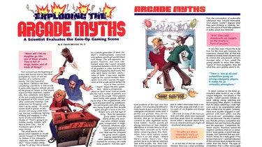 """An article about """"myths"""" about the safety of arcades."""