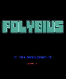 A supposed screenshot of Polybius