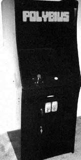 A photo of a supposed Polybius cabinet.