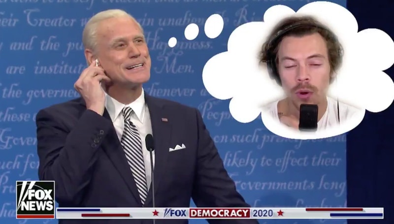 Jim Carrey as Joe Biden in the 'SNL' Season 46 cold open