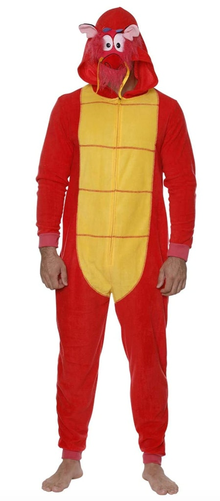 Disney Men's One-Piece Pajama Suit