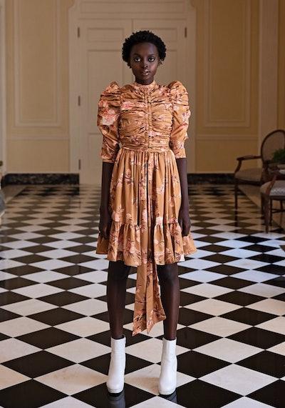 Elizabeth Gigot Sleeve Dress