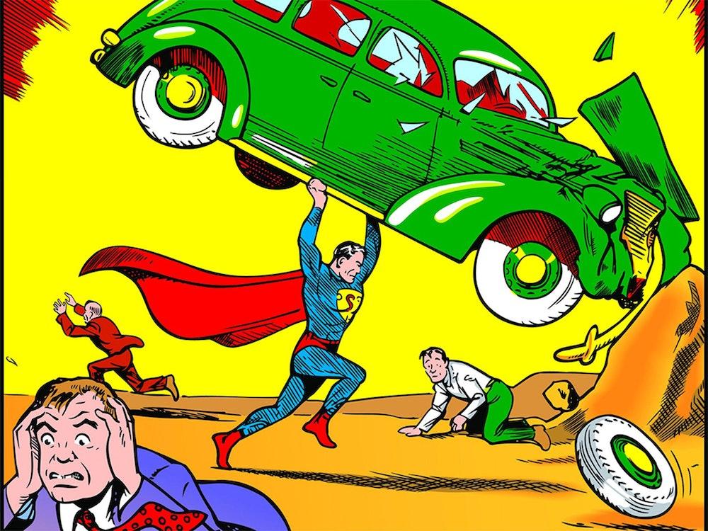 superman original comic