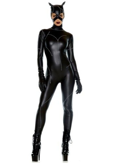 Halloween Costumes On The Prowl Catsuit Costume