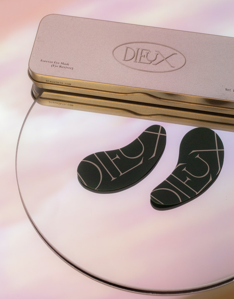 Dieux recently released a line of reusable eye masks and silky hair scrunchies.