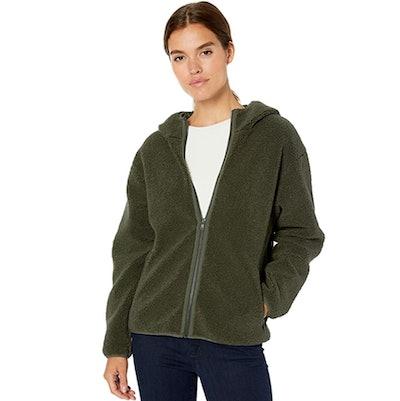 Daily Ritual Hooded Fleece Jacket